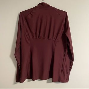 Maroon Lightweight Sweater (Lululemon Align Dupe)
